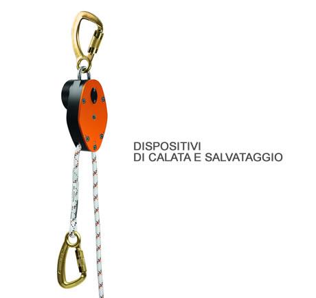 Dispositivi di calata e salvataggio
